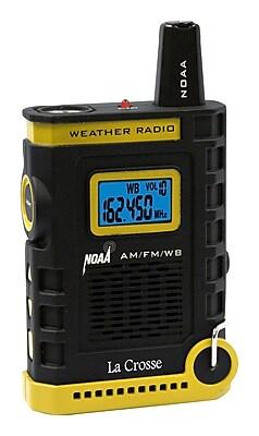 La Crosse 810-805 Super Sport NOAA AM-FM Weather Radio with flashlight