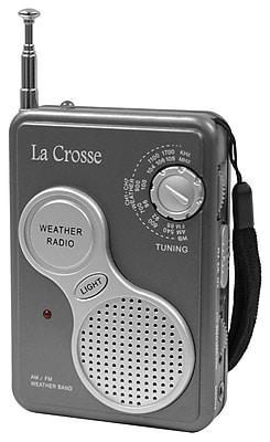 La Crosse 809-905 AM-FM Handheld NOAA Weather Radio