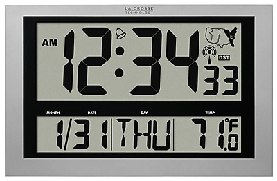 large display digital wall clock