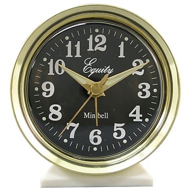 Equity by La Crosse 12020 Analog Wind-Up Bell Alarm Clock