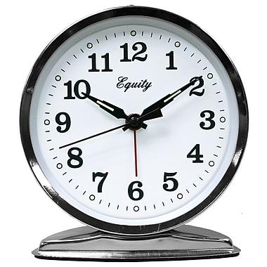 Equity by La Crosse 24014 Wind-Up Loud Bell Metal Alarm Clock