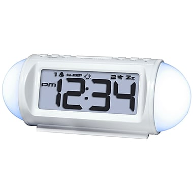Equity by La Crosse 31112 Mood light LED alarm clock with Nature Sounds