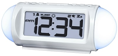 Equity by La Crosse Mood light LED alarm clock with Nature Sounds (31112)