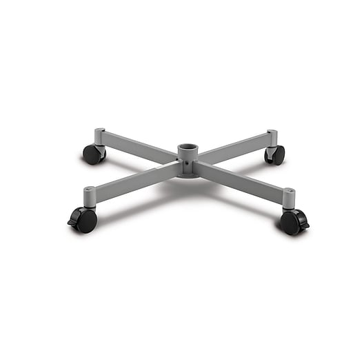 """Moll® Steel Caster Base For Spin & Store Carousel, 6"""" x 9"""", Graphite"""