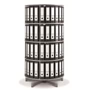 Moll One Turn Binder & File Carousel Shelving, Four Tier (TURN4)