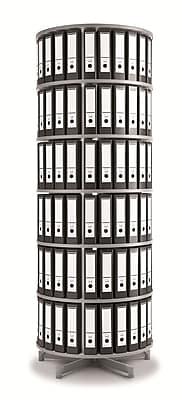 Moll One Turn Binder & File Carousel Shelving, Six Tier (TURN6)