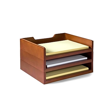 Empire Stack & Style™ Wood Desk Organizers Kit 4