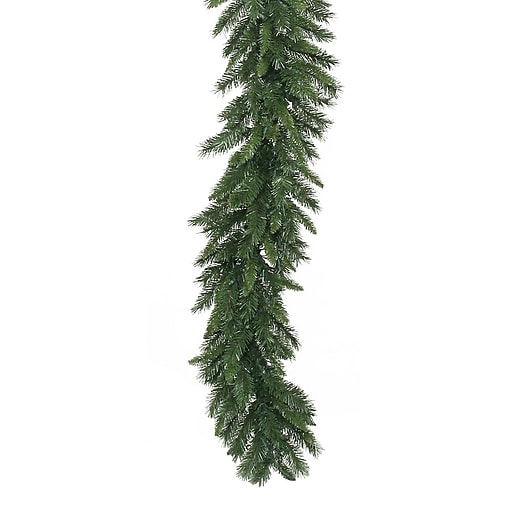 """Vickerman 50' x 16"""" Unlit Imperial Pine Garland With 1380 PVC Tips"""