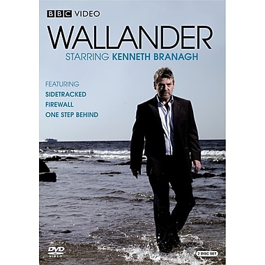 Wallander: Sidetracked, Firewall, One Step Behind (DVD)