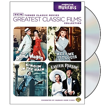 TCM Greatest Classic Films: American Musicals (DVD)