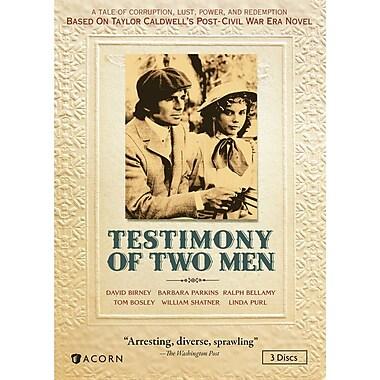 Testimony of Two Men (DVD)