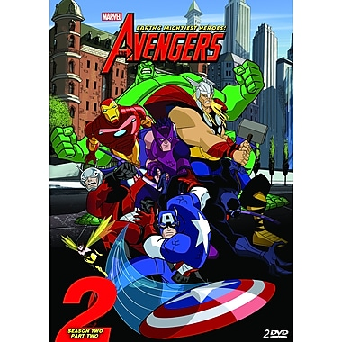 The Avengers - Earth's Mightiest Heroes - Season 2 - Volume 2 (DVD)