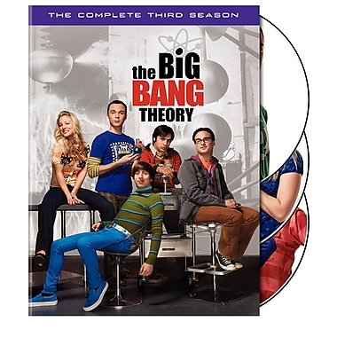 The Big Bang Theory: The Complete Third Season (DVD)
