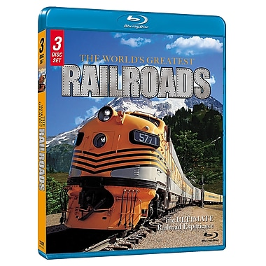The World's Greatest Railroads (DISQUE BLU-RAY)