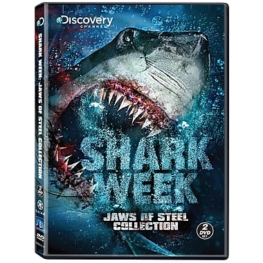 Shark Week: Jaws of Steel Collection (DVD)
