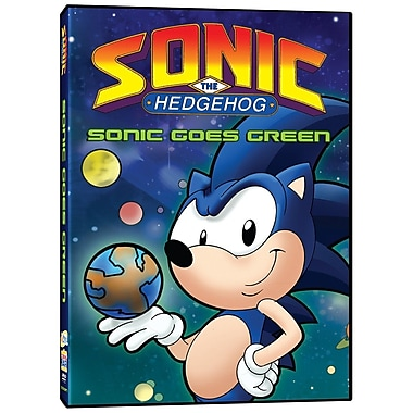 Sonic the Hedgehog: Sonic Goes Green (DVD)