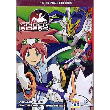 Spider Riders: Volume 3: Ghosts of the Past (DVD)