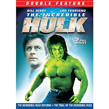 The Incredible Hulk Returns/The Trial of the Incredible Hulk (DVD)