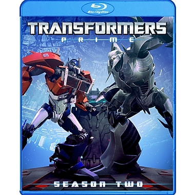 Transformers Prime Season 2 (DISQUE BLU-RAY)