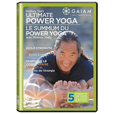 Ultimate Power Yoga DVD with Rodney Yee (GAIAM MEDIA) 2011