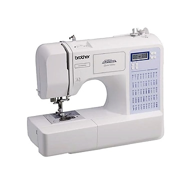 Brother® Project Runway™ Limited Edition Computerized Sewing Machine, One Needle, 87 Stitch