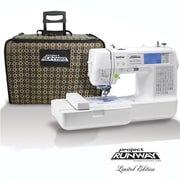 Brother® Project Runway™ Limited Edition Sewing and Embroidery Machine, One Needle