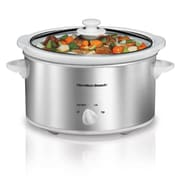 Hamilton Beach® 4 quart Oval Slow Cooker, Silver