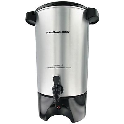 Hamilton Beach 42 Cup Coffee Urn, Silver 88756