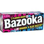 Bazooka Wallet 10-Piece 2.5 oz. Pack; 12 Packs/Box