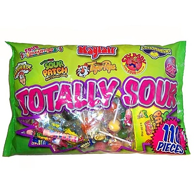 Mayfair Totally Sour, 27 oz. Bag, 110 Pieces/Bag
