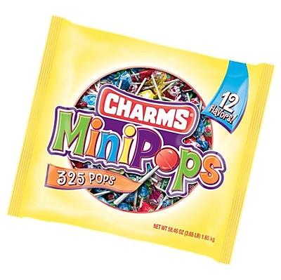CHARMS Mini Pops Bulk Lollipops, 300 Count