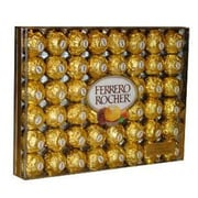 Ferrero Rocher Diamond Gift Box, 48 Pieces/Box