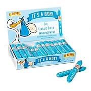 El Bubble It's a Boy Small Bubble Gum Cigar, 0.7 oz., 36 Cigars/Box (209-00262)