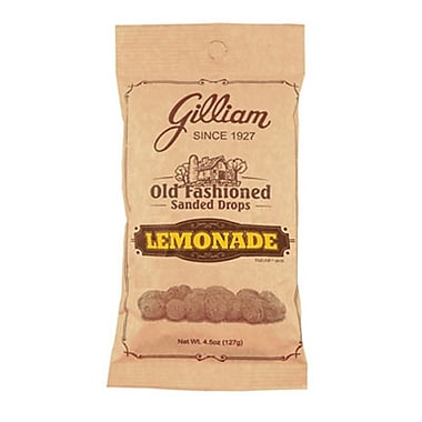 Lemonade Sanded Drops, 4.5 oz. Peg Bag, 24 Bags/Box