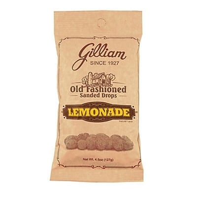 Lemonade Sanded Drops; 4.5 oz. Peg Bag, 24 Bags/Box