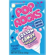 Cotton Candy Pop Rocks, 0.33 oz. Pouch, 24 Pouches/Box