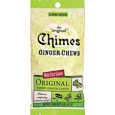 Original Ginger Chews 1.5 oz. Pack, 12 Packs/Box