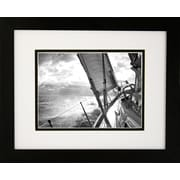 "Diamond Decor ""Homeward Bound"" Framed Print Art, 13"" x 16"""