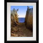 "Diamond Decor ""Pathway"" Framed Print Art, 26"" x 32"""