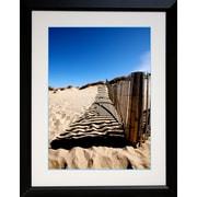 "Diamond Decor ""Fence Line"" Framed Print Art, 26"" x 32"""