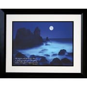 "Diamond Decor ""California Coast"" Framed Print Art, 18"" x 22"""