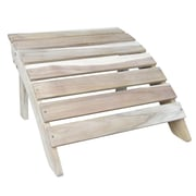 International Concepts Acacia Wood Adirondack Footrest, Unfinished