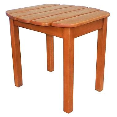 International Concepts Acacia Wood Adirondack Sidetable, Oiled