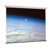 """Draper® Luma Manual 85"""" Wall and Ceiling Projector Screen, 16:10, Black Casing"""