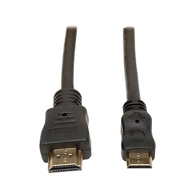 Tripp Lite P571-003-MINI 3' HDMI to Mini HDMI Audio/Video Cable, Black