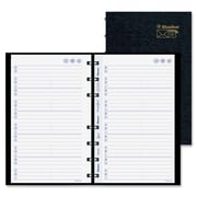 Blueline MiracleBind Lizard-Like Telephone/Address Book, Black