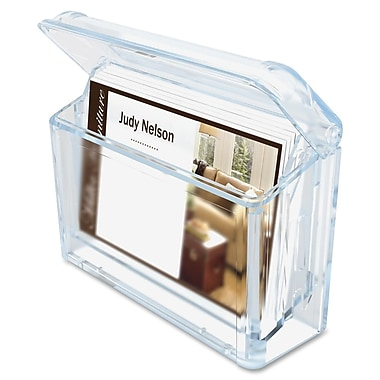 Deflect-o Grab-A-Card Outdoor Business Card Holder, 2-3/4