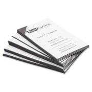 """Baumgartens Business Card Magnets, 3-1/2"""" x 2"""", Black, 25/Pack"""