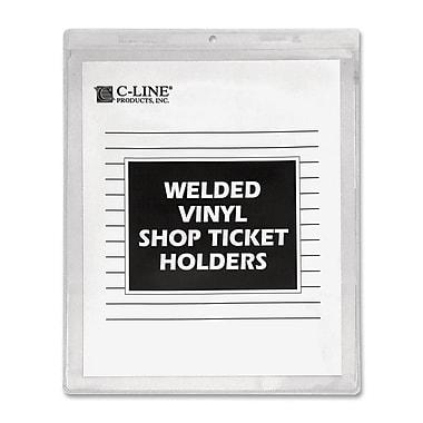 C-line - Porte-étiquettes en vinyle à sceller, 50/pqt