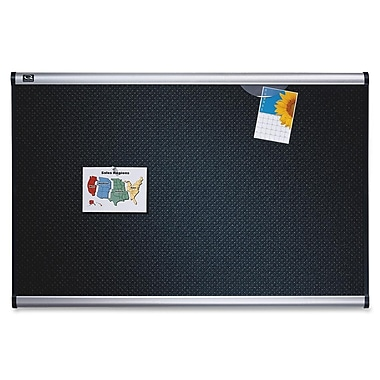 Quartet Prestige Black Embossed Foam Board, 24